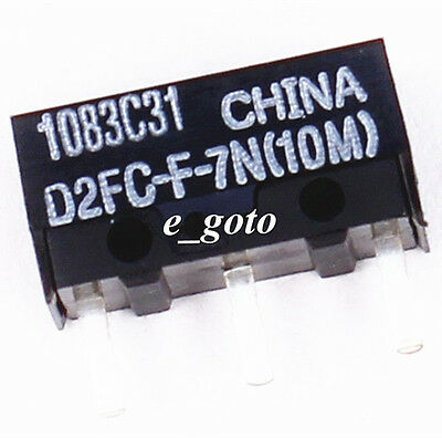 OMRON D2FC-F-7N(10M) Micro Switch Microswitch for Mouse good