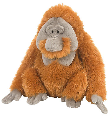 "Wild Republic Cuddlekins 12"" Orangutan Male Plush Soft Toy Cuddly Teddy 12250"