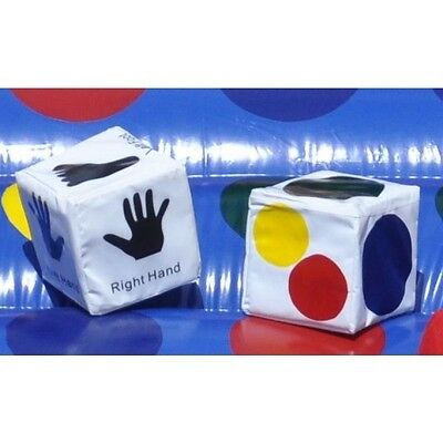 Dice for Commercial Inflatable Twister Bounce Game Jump Play Rent Tentandtable F