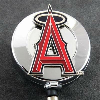 MLB Baseball Los Angeles Angels of Anaheim Retractable Badge Reel ID Card Holder