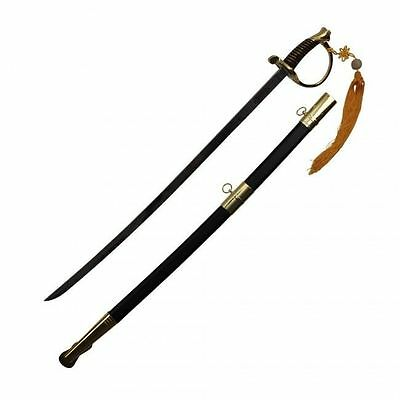 "LARGE 39"" Civil War CSA Confederate Cavalry Officer Sword Saber Gold C.S.A. Xmas"