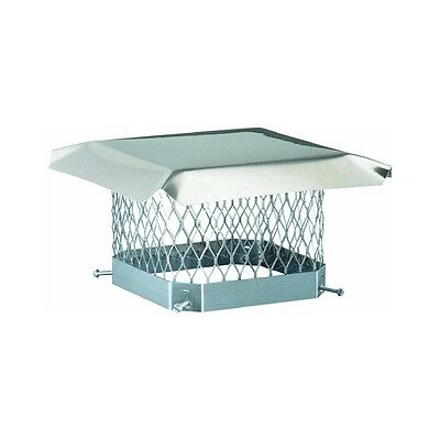 New Hy-C Scss913 9X13 Stainless Stove Chimney Pipe Cap Shelter Cover Usa 6321426
