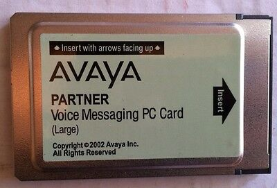 Avaya  Lucent Partner Voice Messaging PC Card - Large 108505306
