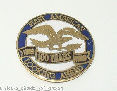 FIRST AMERICAN (TITLE) LOOKING AHEAD 100 YEARS  PIN