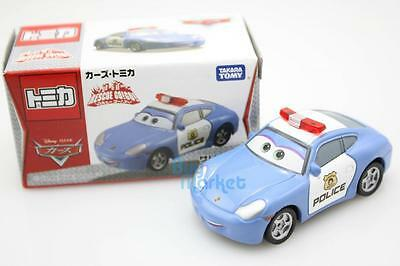 Tomica Takara Tomy Disney CARS 2 SALLY CARRERA Police Car Rescue Diecast Toy