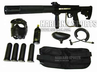 BT-4 Combat SR-12 Paintball Gun + Kit  Combo New