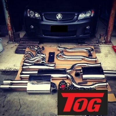 Tog Ultimate Stainless Steel Ve Commodore V8 Ss Sed/wag Ls2 Ls3 Exhaust System