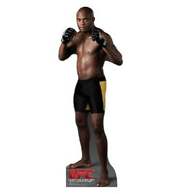 Anderson Silva from UFC OFFICIAL CARDBOARD CUTOUT Standup. Great for UFC fans!