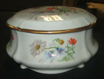 Limoges Country Bouquet Isabella Box (Large)