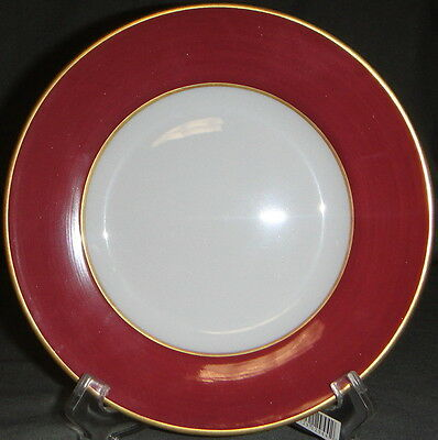 Limoges Jammet Seignolles Diplomate Raspberry Bread & Butter Plate
