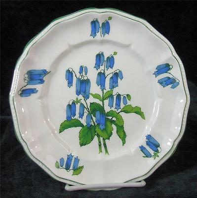 CROWN STAFFORDSHIRE - SOMERSET - BONE CHINA - SALAD or LUNCHEON PLATE - 8.25""