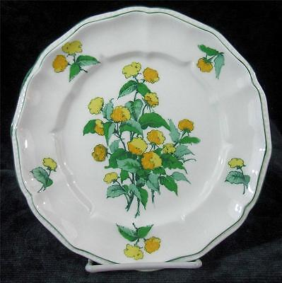 CROWN STAFFORDSHIRE - CORNWALL - BONE CHINA - SALAD or LUNCHEON PLATE - 8.25""