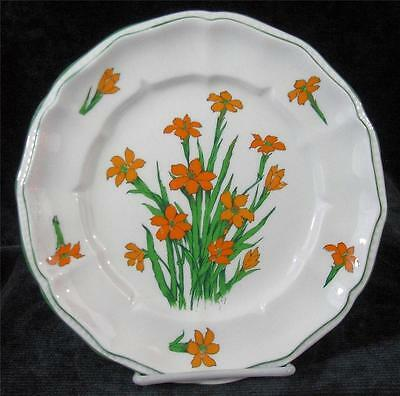 CROWN STAFFORDSHIRE - DEVON - BONE CHINA - SALAD or LUNCHEON PLATE - 8.25""