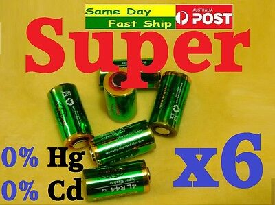 6 x 4LR44 6V PX28A A544 476A 4A76 28A Alkaline Battery for Anti Dog Bark Collar
