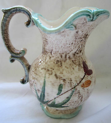 VINTAGE HAND PAINTED NAPCO NAPCOWARE PITCHER