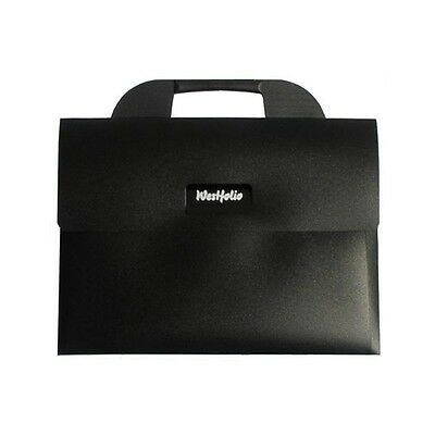 Westfolio A3 Black Carry Case Portfolio - Flat Art Storage Folder