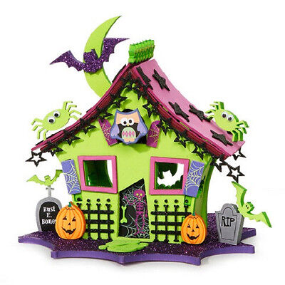Foamies Halloween 3D Owl House Foam Craft Kit