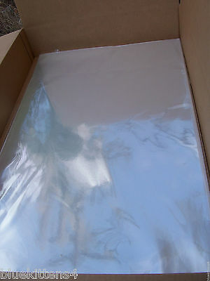 50 24 X 30 Large Archival Display Storage Envelope Acidfree Crystal Clear Sleeve