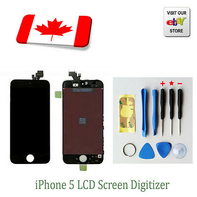 Replacement Touch Screen LCD Digitizer Assembly For iPhone 5 Black