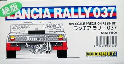 ULTRA RARE BRAND NEW 1/24 Modeler's Lancia Rally 037 Martini Model Kit
