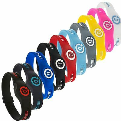 Bioflow 2016 Sport Magnetic Silicone Therapy Wristband **Many Colours**