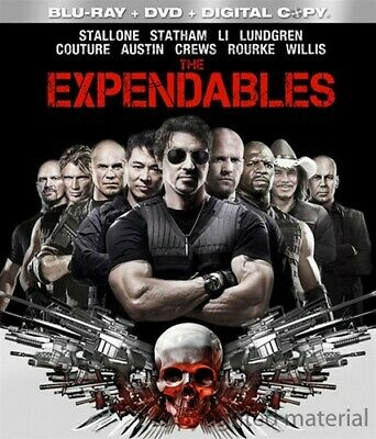 The Expendables (Blu-ray/DVD, 2010, 3-Disc Set)