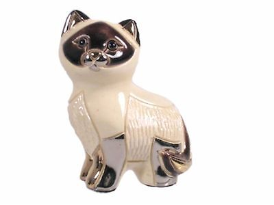 "Rinconada ""Baby Siamese Cat - Kitten Sitting"" Collectable Figurine (R1724)"