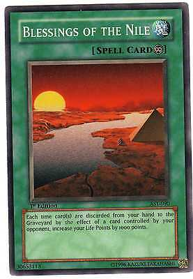 Blessings of the Nile AST-090 Carte Yu-Gi-Oh! 1st FIRST EDITION ENGLISH CARD