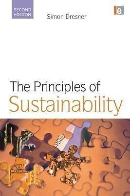 The Principles of Sustainability - Simon Dresner - 9781844074969 PORTOFREI