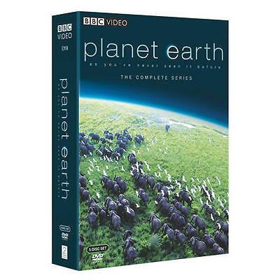 PLANET EARTH THE COMPLETE COLLECTION 5 DISC DVD SET LIKE NEW NEVER VIEWED BBC