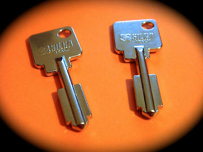 CHUBB AVA Keyblank Pair-Pushlock, Safe, Abloy, Safe Deposit, Key Blank-Free Post