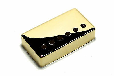 """Humbucker Pickup cover Gold plated nickel silver 1 15/16"""" (49.2mm) for Gibson"""