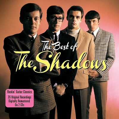 The Shadows BEST OF 35 Rockin' Guitar Songs ESSENTIAL COLLECTION New Sealed 2 CD