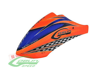 SAB H0382-S Goblin 700 Speed Canomod Airbrush Canopy Orange