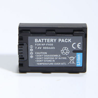 NP-FH50 Battery for Sony ALPHA A230 A330 A380 A390 Camera