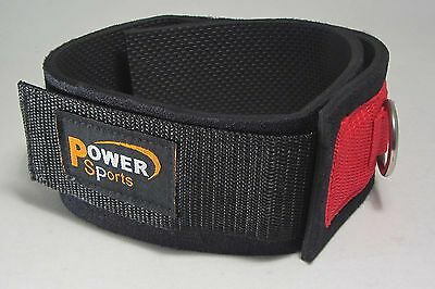 THIGH Strap Cable Machine Attachment - With Double D-Rings Power Sports