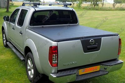 Nissan Navara D40 Soft Roll Up Tonneau Bed Cover Eagle1 Premium Soft Roll & Lock