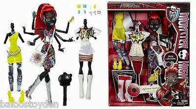 BRAND NEW IN HAND! Monster High Exclusive WYDOWNA SPIDER I Love Heart Fashion