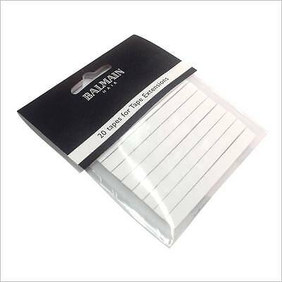 Balmain Tapes for Reapplying Hair Extensions to Hair 20pcs Professional Quality