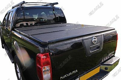 Nissan Navara D40 Eagle1 Hard Folding Tonneau Cover | Pickup Bed Cover | Lid
