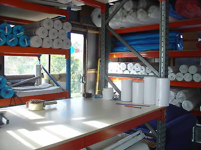 50 Mtr X 333mm WHITE MED/Heavy SOFT CUTAWAY FUSEABLE STABILIZER  1065SF