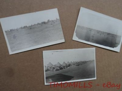 1917 Camp Cody Deming New Mexico Real Photo Postcard Lot WWI RPPC AEF Original