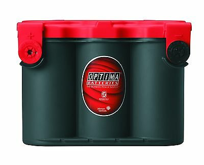 Optima® 8078-109 RedTop® Starting AGM Battery 78 Side Posts Only