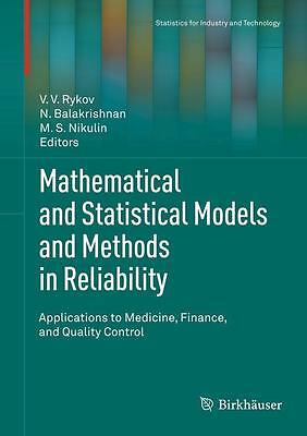 Mathematical and Statistical Models and Methods in Reliability DHL-Versand