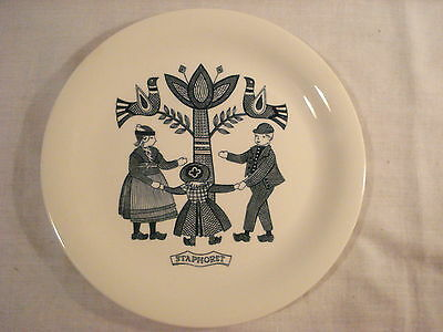 "Vintage Royal Sphinx Maastricht Collectible ""Staphorst"" Dutch Folklore Plate"