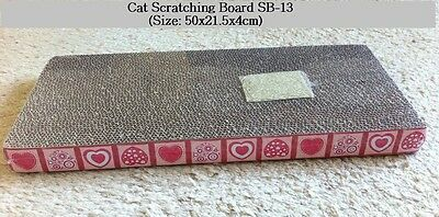 Cat Scratcher big size Scratch board SB-13 w/ Catnip Cat toy cat scratch post