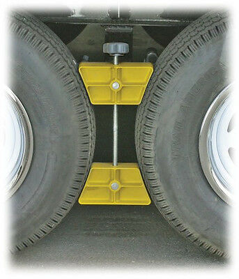 Camco RV Wheel Stop Stabilize Travel Trailer Camper 5th Fifth Wheel Tires Chock