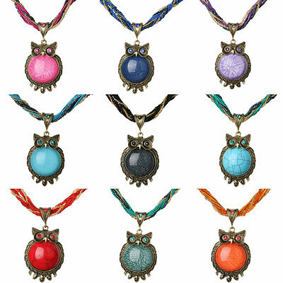 National Rhinestone&Crystal Glass Beads Flower Statement Chain Necklace Pendant