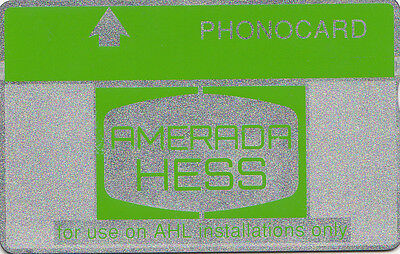 Phonecard - Amerada Hess Offshore Oil Rig - used