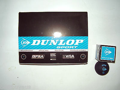 12 Dunlop Intro Blue Dot Entry Level Squash Balls Wsf Ap